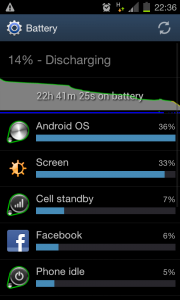 Battery Screen