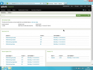 Splunk on Windows 8