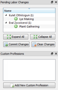 Pending Changes and Profession Panels