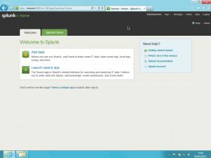 Splunk on Windows 8