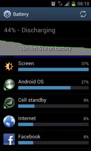 Improved Batterylife
